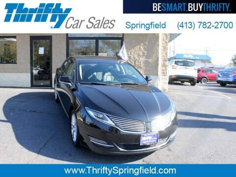 2016 Lincoln MKZ for sale at Thrifty Car Sales Springfield in Springfield MA