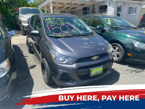 2016 Chevrolet Spark for sale at BUY RITE AUTO MALL LLC in Garfield NJ