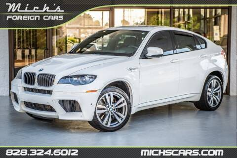 2011 BMW X6 M for sale at Mich's Foreign Cars in Hickory NC