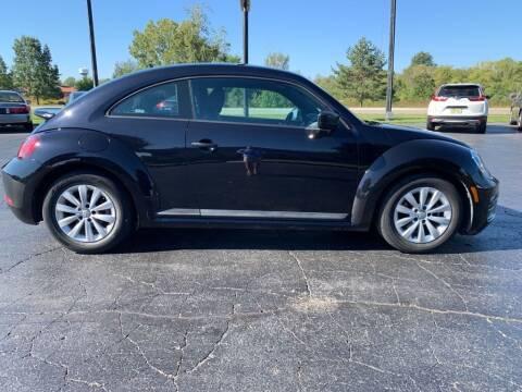 2018 Volkswagen Beetle for sale at Hawkins Motors Sales in Hillsdale MI