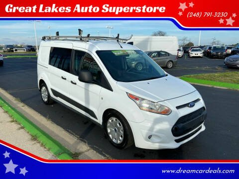 2016 Ford Transit Connect Cargo for sale at Great Lakes Auto Superstore in Waterford Township MI