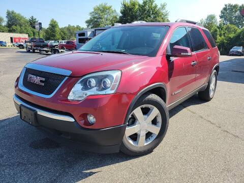 2008 GMC Acadia for sale at Cruisin' Auto Sales in Madison IN