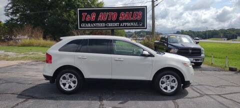 2013 Ford Edge for sale at T & G Auto Sales in Florence AL