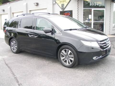 2015 Honda Odyssey for sale at Autoworks in Mishawaka IN