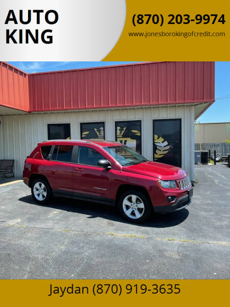 2016 Jeep Compass for sale at AUTO KING in Jonesboro AR