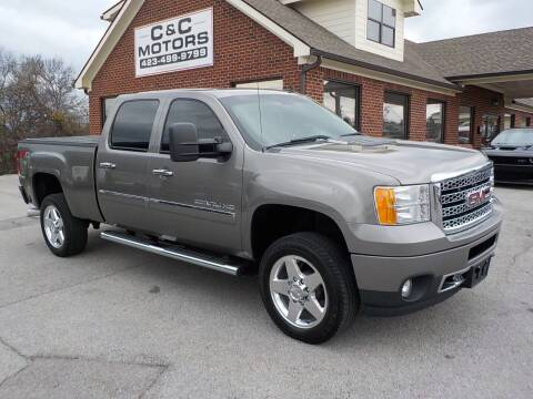 2014 GMC Sierra 2500HD for sale at C & C MOTORS in Chattanooga TN