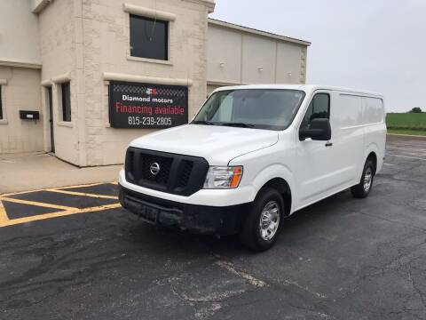 2016 Nissan NV Cargo for sale at Diamond Motors in Pecatonica IL