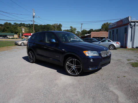 2014 BMW X3 for sale at Auto Mart in Kannapolis NC