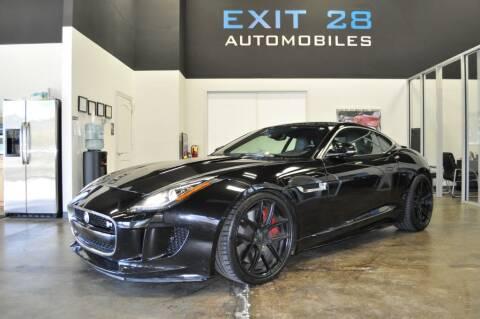 2015 Jaguar F-TYPE for sale at Exit 28 Auto Center LLC in Cornelius NC