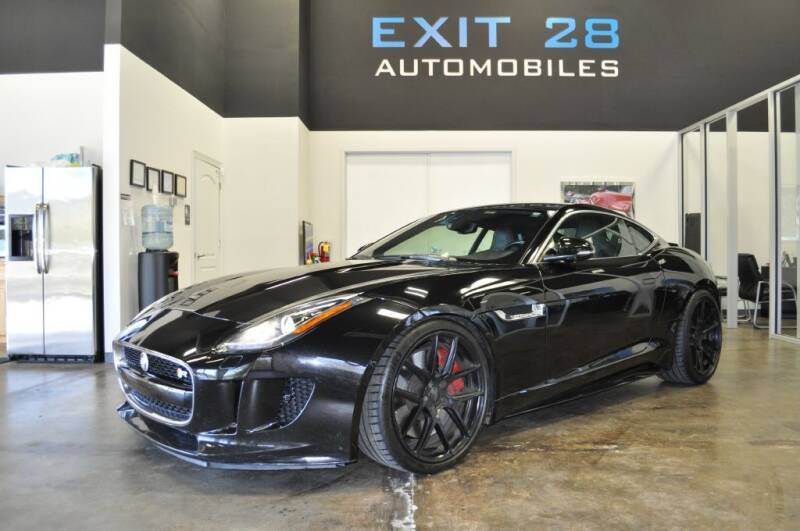 2015 Jaguar F-TYPE for sale at Exit 28 Auto Center LLC in Cornelius NC