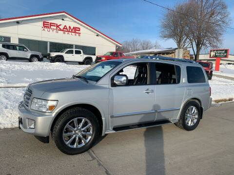 2010 Infiniti QX56 for sale at Efkamp Auto Sales LLC in Des Moines IA