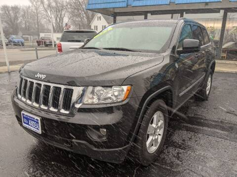 2012 Jeep Grand Cherokee for sale at GREAT DEALS ON WHEELS in Michigan City IN