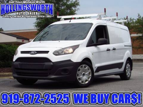 2014 Ford Transit Connect Cargo for sale at Hollingsworth Auto Sales in Raleigh NC