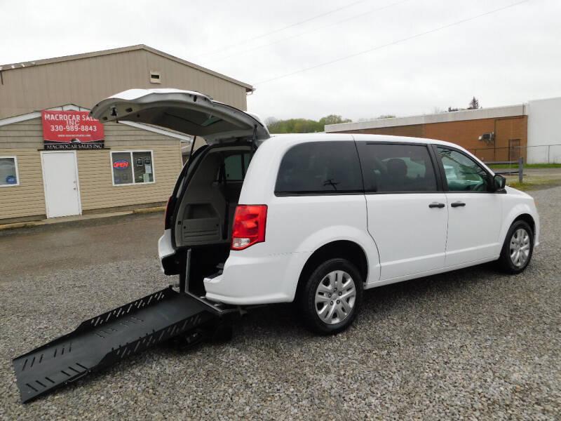 2019 Dodge Grand Caravan for sale at Macrocar Sales Inc in Akron OH
