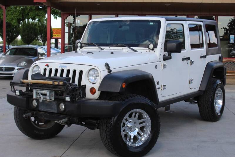 2007 Jeep Wrangler Unlimited for sale at ALIC MOTORS in Boise ID