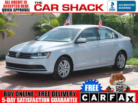 2017 Volkswagen Jetta for sale at The Car Shack in Hialeah FL