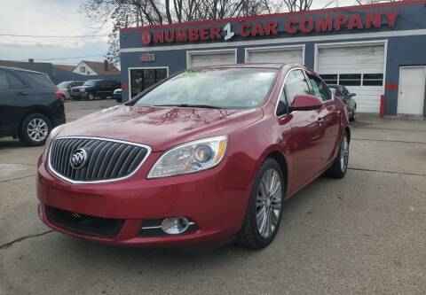 2012 Buick Verano for sale at Julian Auto Sales, Inc. in Warren MI