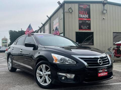 2015 Nissan Altima for sale at Premium Auto Group in Humble TX