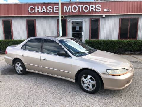 2000 Honda Accord for sale at Chase Motors Inc in Stafford TX