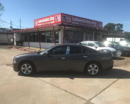 2014 Dodge Charger for sale at LA Auto Sales in Monroe LA