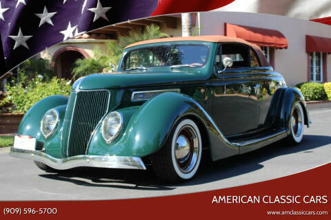 1936 Ford Deluxe for sale at American Classic Cars in La Verne CA