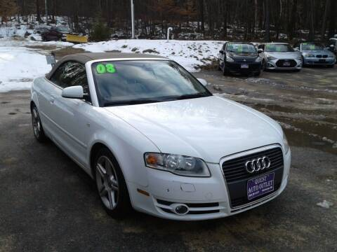 2008 Audi A4 for sale at Quest Auto Outlet in Chichester NH
