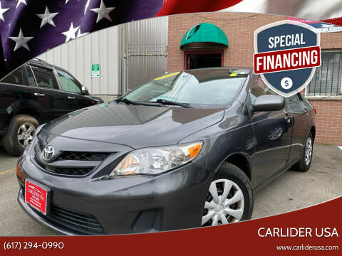 2013 Toyota Corolla for sale at Carlider USA in Everett MA