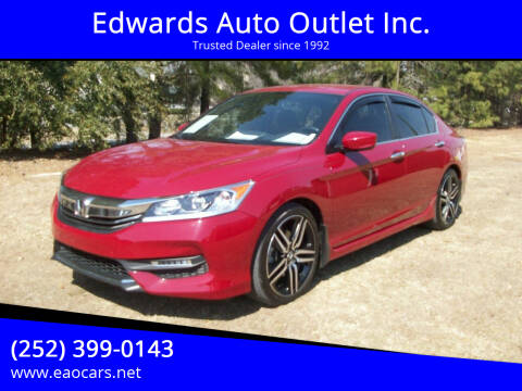 2017 Honda Accord for sale at Edwards Auto Outlet Inc. in Wilson NC