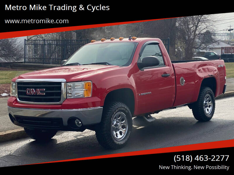 2007 GMC Sierra 1500 for sale at Metro Mike Trading & Cycles in Albany NY