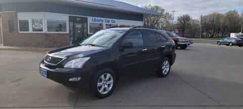 2008 Lexus RX 350 for sale at Liberty Car Company in Waterloo IA