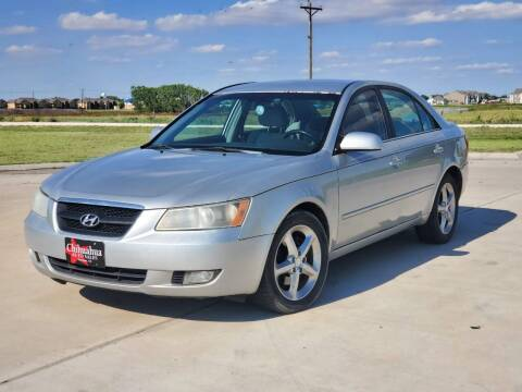 2008 Hyundai Sonata for sale at Chihuahua Auto Sales in Perryton TX