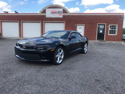 2015 Chevrolet Camaro for sale at Family Auto Finance OKC LLC in Oklahoma City OK