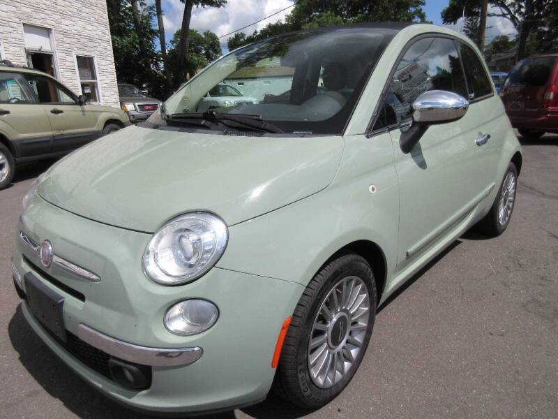 2012 FIAT 500c for sale at BOB & PENNY'S AUTOS in Plainville CT