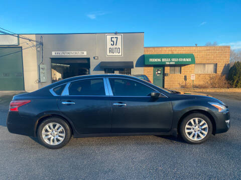 2013 Nissan Altima for sale at 57 AUTO in Feeding Hills MA