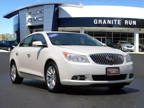 2013 Buick LaCrosse for sale at GRANITE RUN PRE OWNED CAR AND TRUCK OUTLET in Media PA