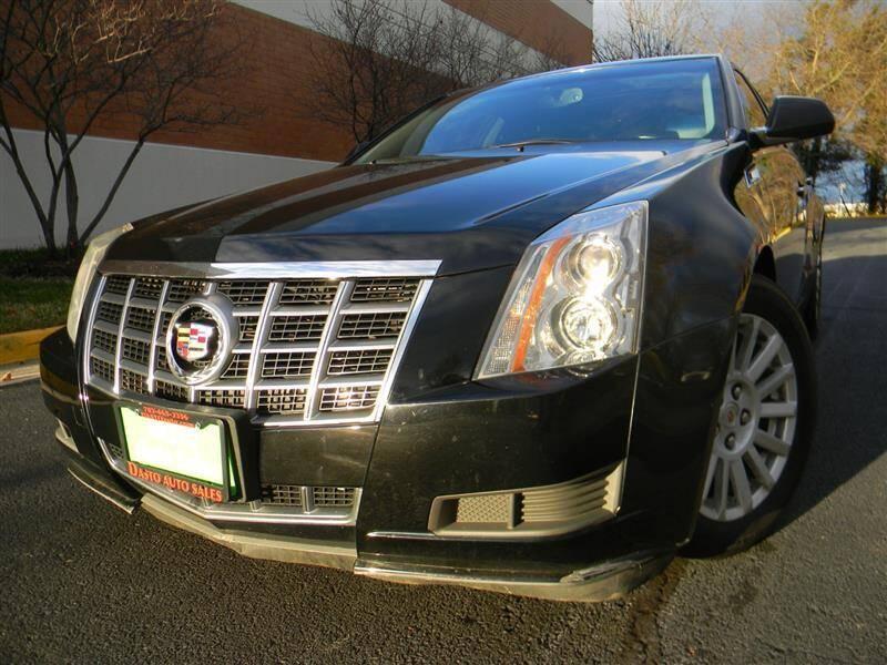 2012 Cadillac CTS for sale at Dasto Auto Sales in Manassas VA