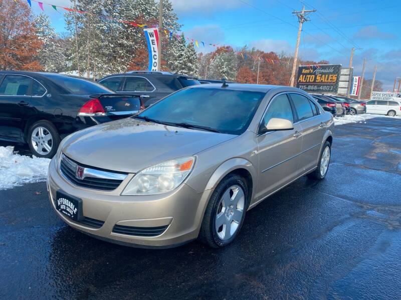 2008 Saturn Aura for sale at Affordable Auto Sales in Webster WI