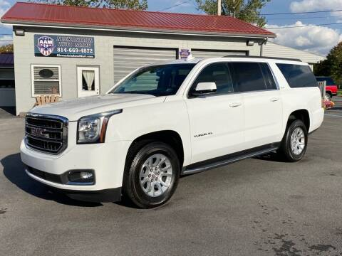 2017 GMC Yukon XL for sale at Alexandria Auto Mart LLC in Alexandria PA