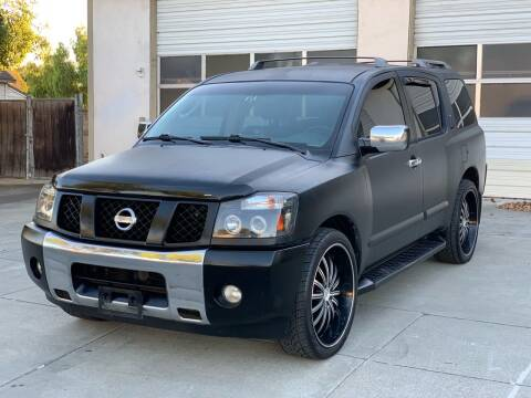 2004 Nissan Armada for sale at ELYA MOTORS in Newark CA