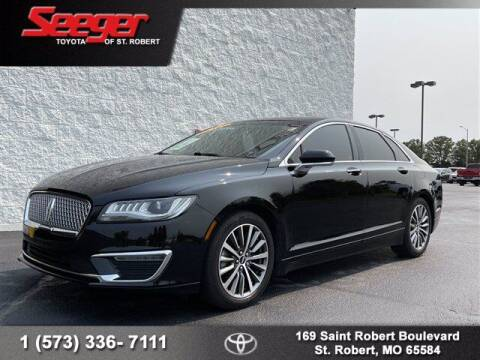 2018 Lincoln MKZ for sale at SEEGER TOYOTA OF ST ROBERT in Saint Robert MO