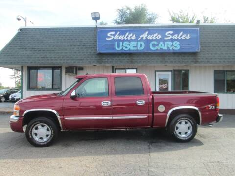 2006 GMC Sierra 1500 for sale at SHULTS AUTO SALES INC. in Crystal Lake IL