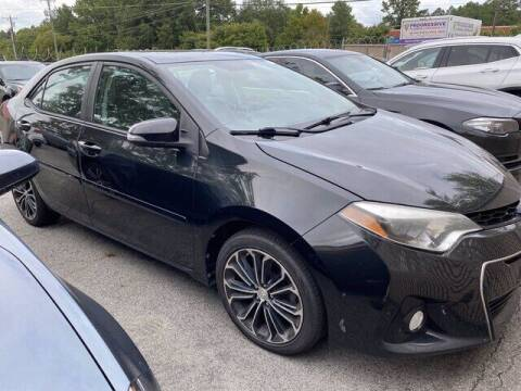 2015 Toyota Corolla for sale at CBS Quality Cars in Durham NC