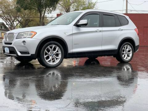 2011 BMW X3 for sale at Integrity Motorz, LLC in Tracy CA