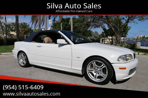 2003 BMW 3 Series for sale at Silva Auto Sales in Pompano Beach FL