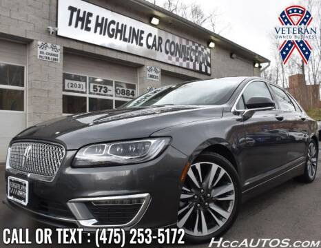 2019 Lincoln MKZ for sale at The Highline Car Connection in Waterbury CT