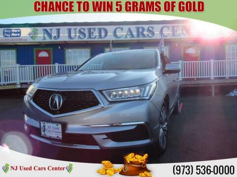 2017 Acura MDX for sale at New Jersey Used Cars Center in Irvington NJ