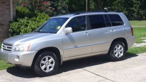 2001 Toyota Highlander for sale at Prospect Motors LLC in Adamsville AL