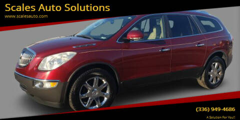 2008 Buick Enclave for sale at Scales Auto Solutions in Madison NC
