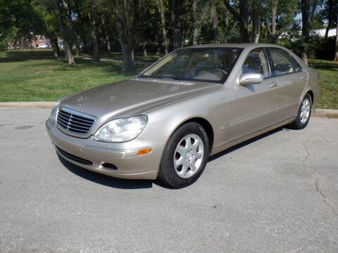 2001 Mercedes-Benz S-Class for sale at RENNSPORT Kansas City in Kansas City MO