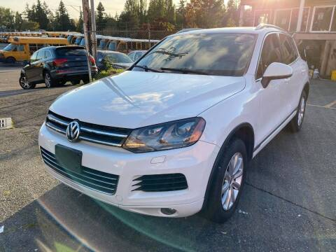 2012 Volkswagen Touareg for sale at SNS AUTO SALES in Seattle WA